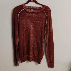 Helix Maroon/white pullover